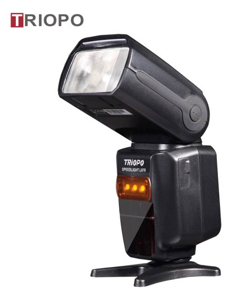 TRIOPO TR-870 camera flash light ,speedlite with li battery and AA battery case,wireless function ,