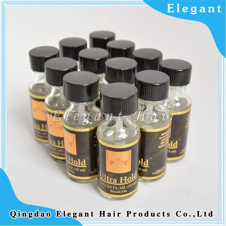 Strong ultra hold adhesive glue for human hair