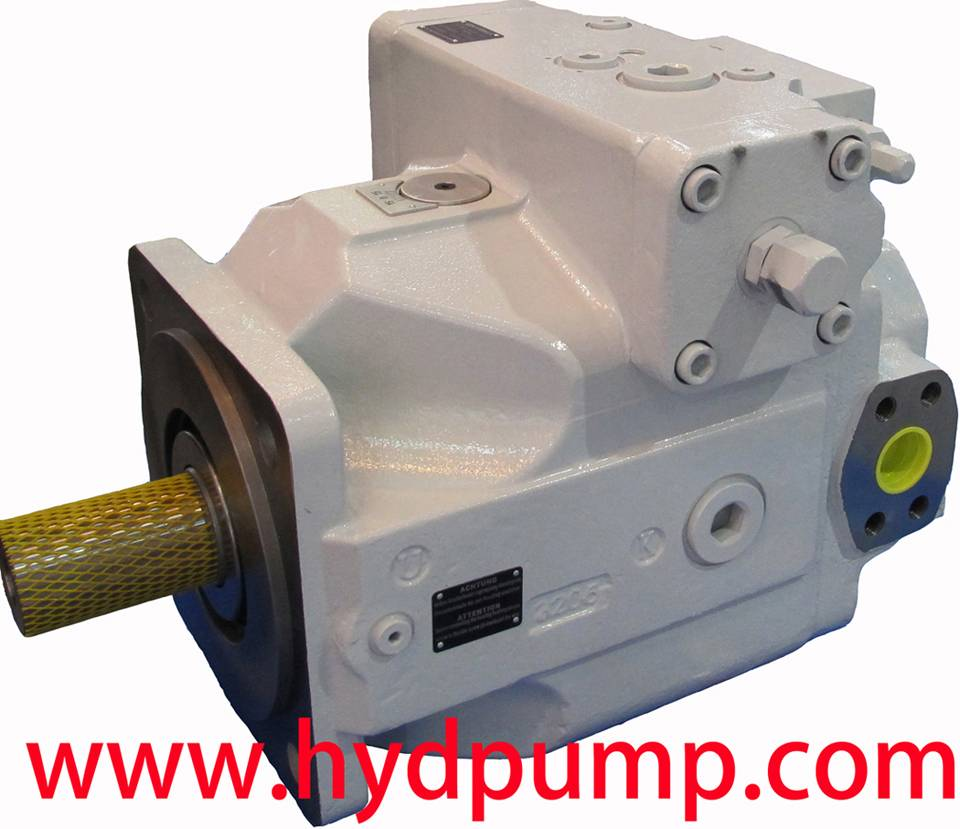 Water ethylene glycol piston pump and Brueninghaus Hydromatik Rexroth A4VSO Pump
