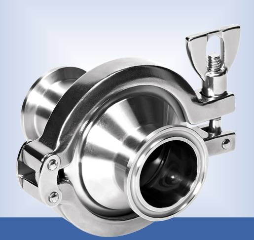 Sanitary Stainless Steel Clamped Check Valves