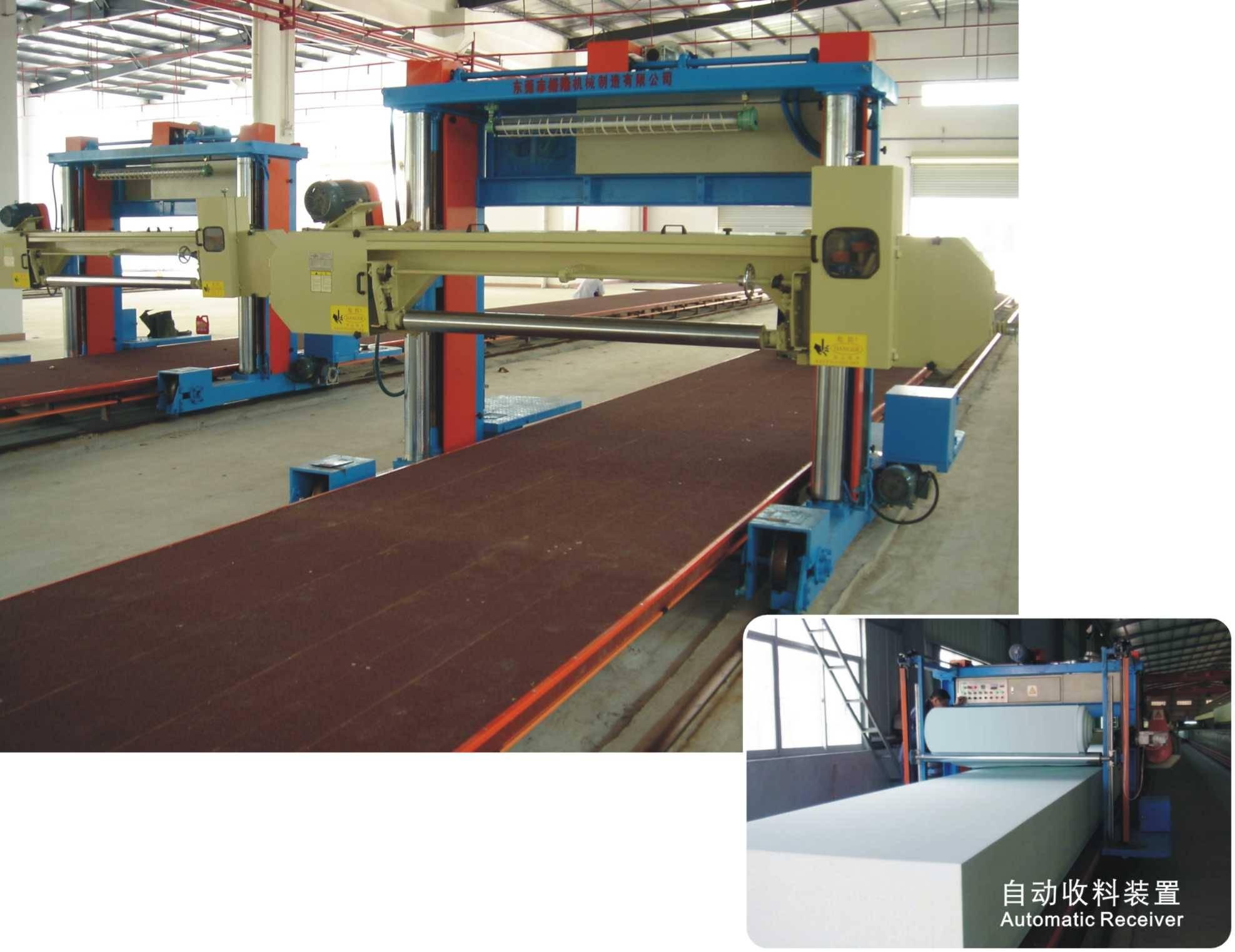 Long Sheet Foam Cutting Machine