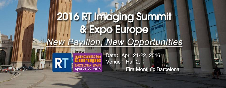 RT Imaging Summit & Expo-Europe 2016