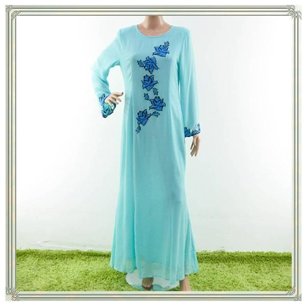 Elegant design chiffon islamic clothing