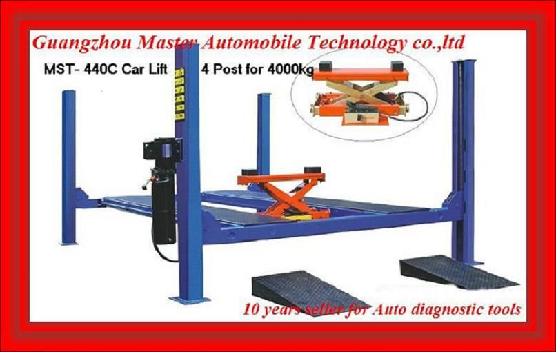 Car lift MST- 440C Four Post Vehicle Hoist weih CE