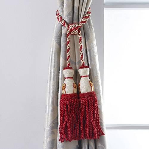 CH-00039 Curtain tassel tiebacks