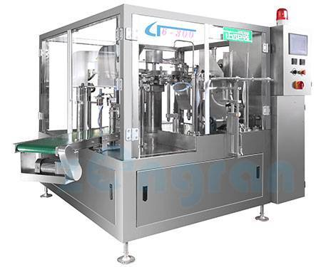Rotary bag given automatic packing machine(CF6-200)