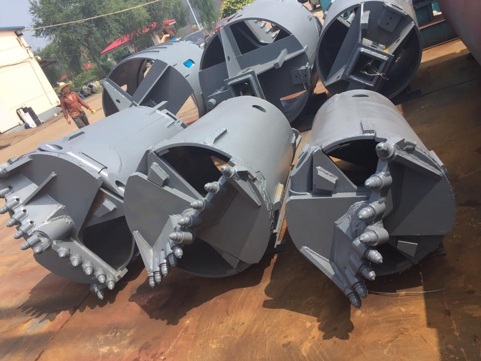 Drilling buckets, drilling auger, core barrel for piling machine