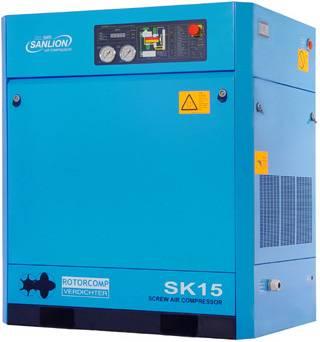SANLION BAUER screw air compressor (SK15)