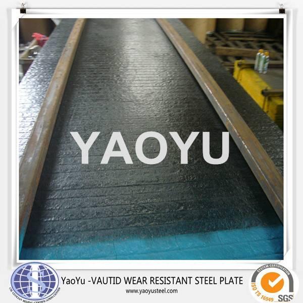 abrasion resistant composite steel plate