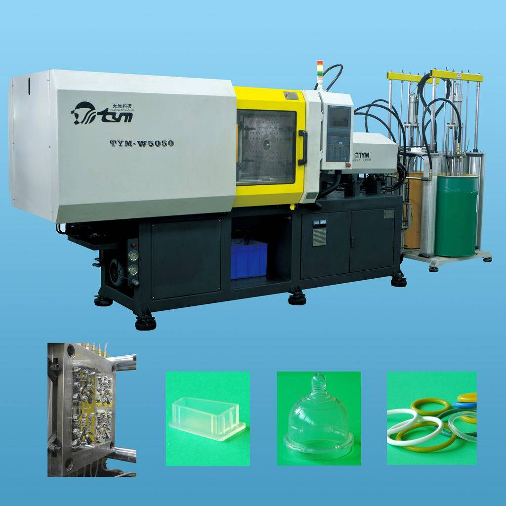 Sell horizontal Liquid Silicone Rubber injection molding machine TYM-W5050