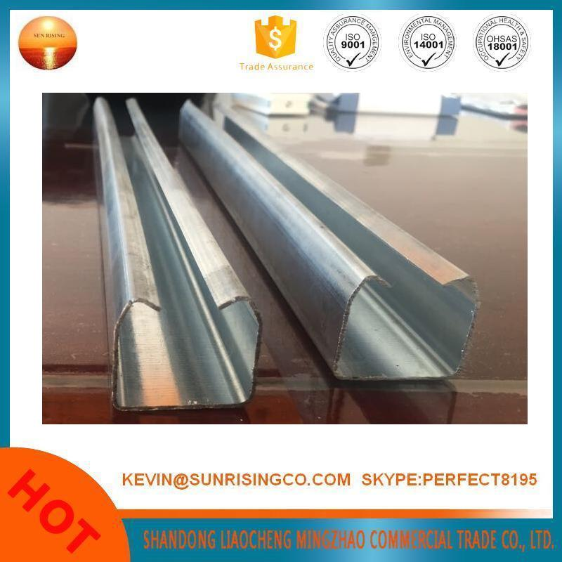 hot dipped galvanized steel profile