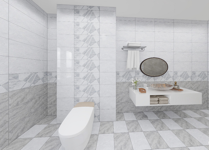 Foshan New Design Ceramic Floor Tiles and Wall Tiles for Home Decoration (600X300mm)