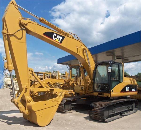Used and new Crawler Excavators Caterpillar 320cl