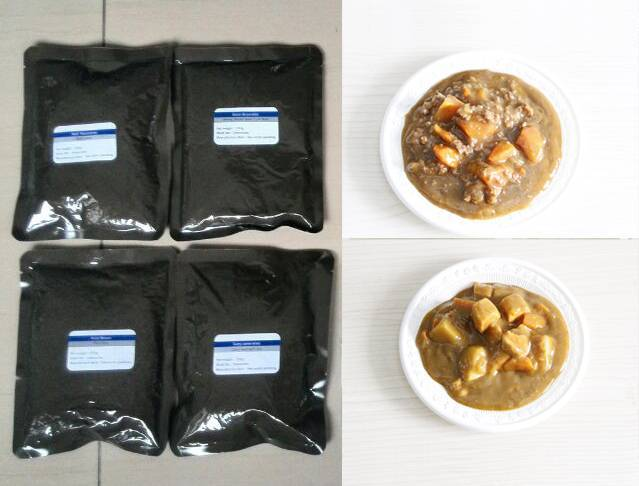 emergency survival food,instant food,meal ready to eat,outdoor instant lunch,