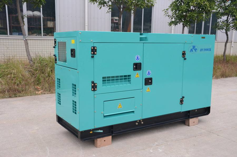 Diesel Generator Cummins Diesel Engine Generator Set with Stamford Alternator Rate Output At 250kVA