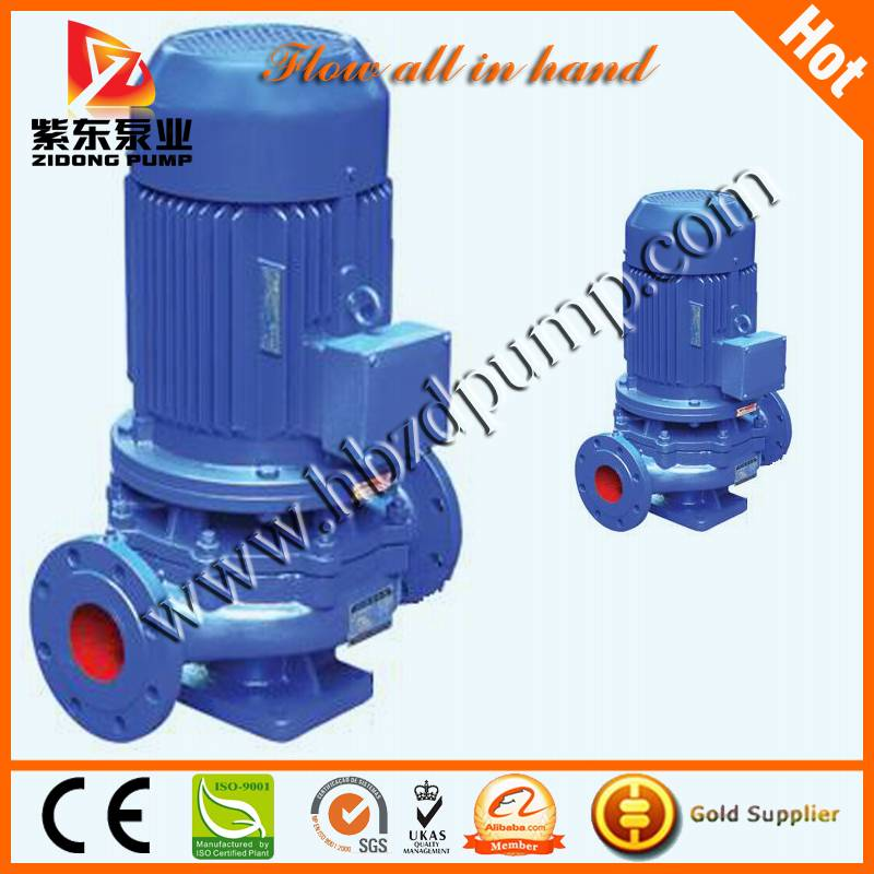 centrifugal vertical in-line pump