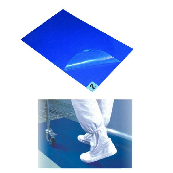Cleanroom anti-static pedal sticky mat
