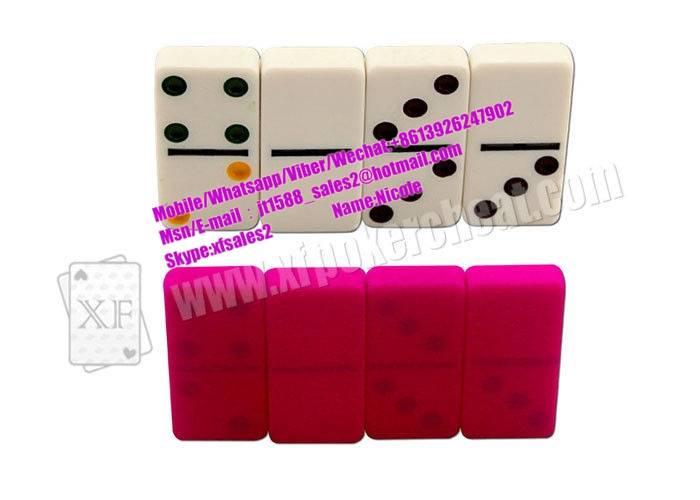 White Marked Dominoes For UV Contact Lenses,Dominoes Games,Gambling