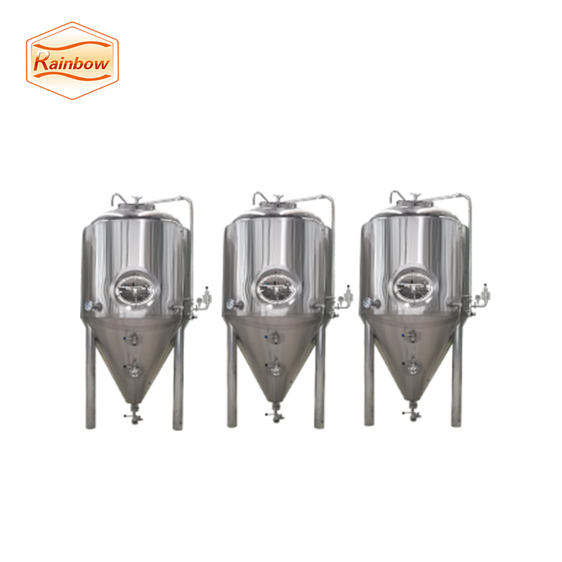 1500L SUS304 Double Jacketed Beer Fermenter