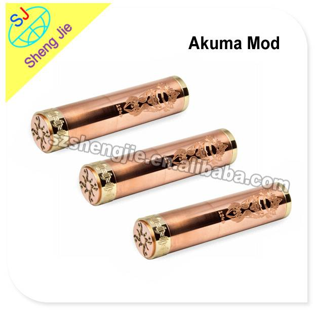 2014 SJ full copper mechanical mod mechanical akuma mod
