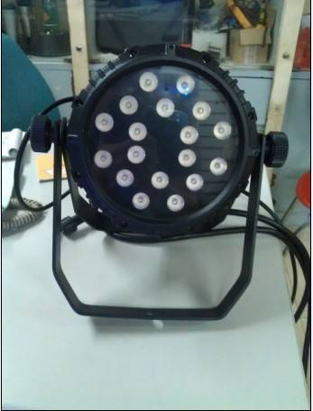 LED 8W 18pcs PAR LIGHT