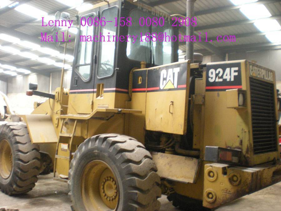 Used cat 924F wheel loader, used cat loader,used loader