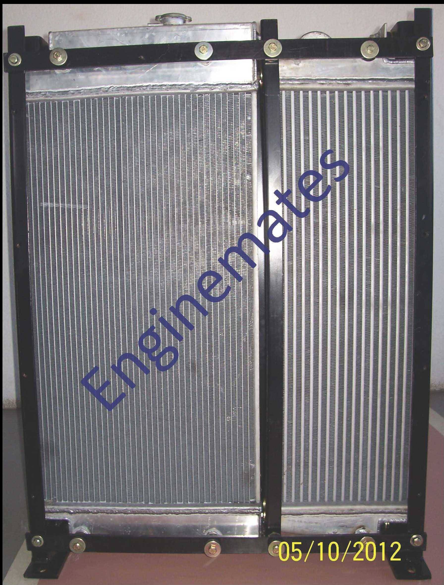 Engine cooling system for diesel engine