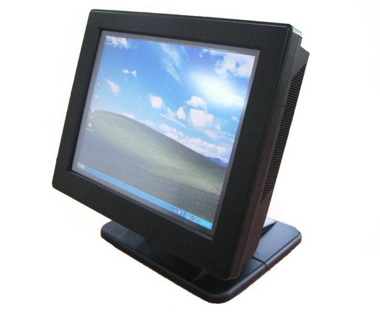 15 inch All in one touch screen POS Terminal with android, wifi, A4 signboard