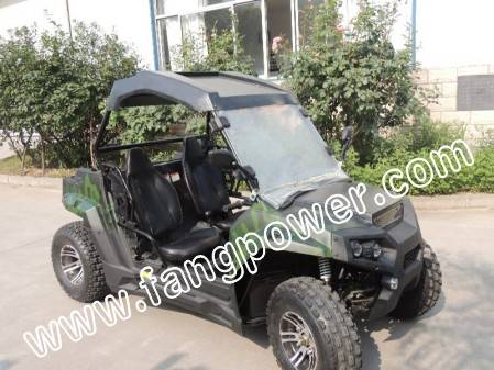 strong power oil cooled fast shipping UTV 200cc