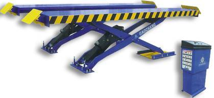 Large platform scissor lift
