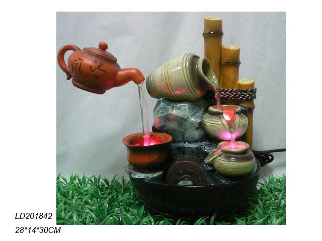sell polyresin tabletop fountain