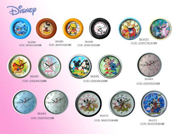 Disney Brand watches and clocks