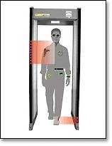New Garrett PD6500i Securit Walk Through Metal Detector