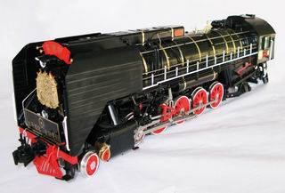 Brass toy train - G scale model