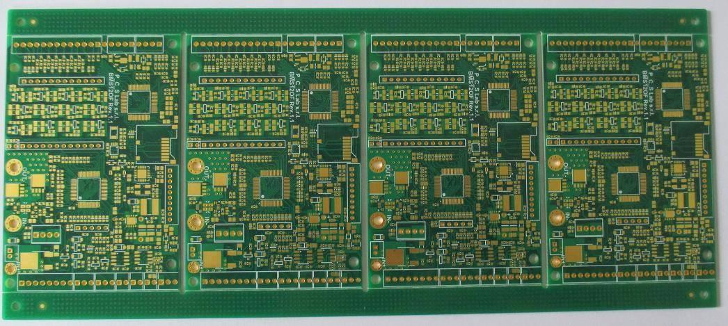 High CTI printed circuit board