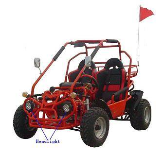 EEC Approved 250cc Go Kart (Water Cooling)