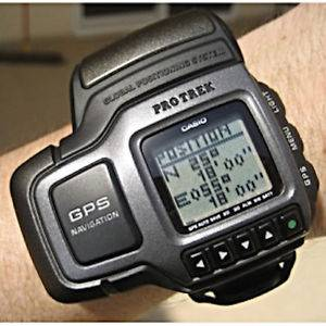 Casio PRT-1GP (1st digital wrist watch with GPS) Pro Trek