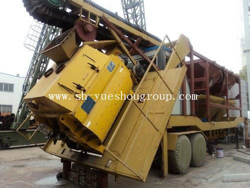 Moveable concrete mixing plant (HZNB35)