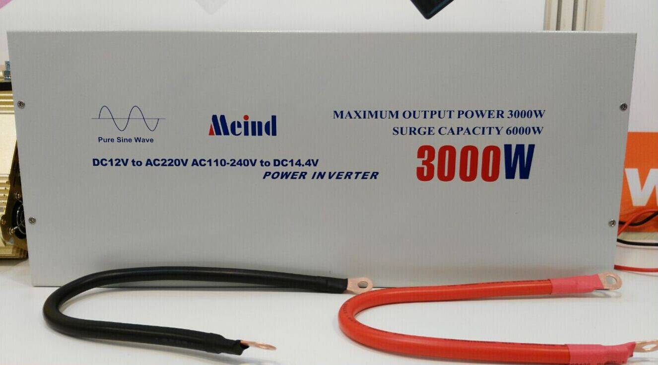 Meind 3000W Pure Sine Wave Inverter with Battery charge for home,solar off grid system,etc
