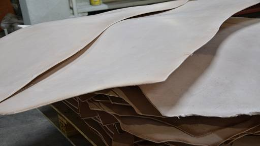 Vegetable tanned sole Leather bends