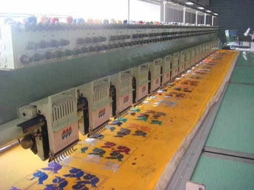 used tajima textile machine
