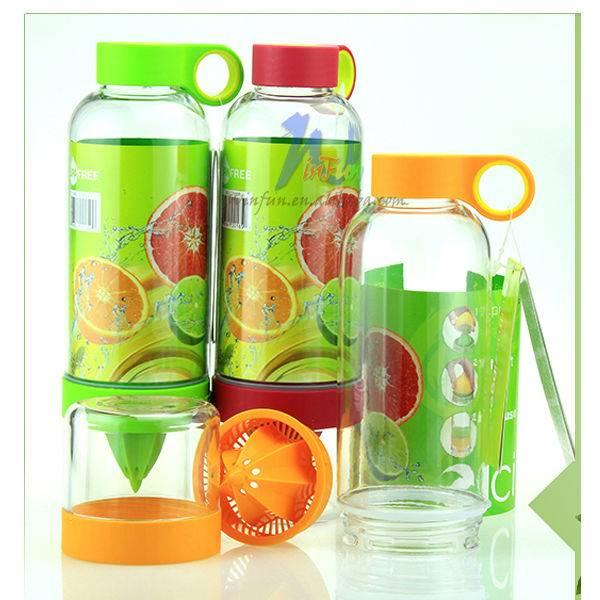 Portable Water Bottle Vitality Juice Source Lemon Cup