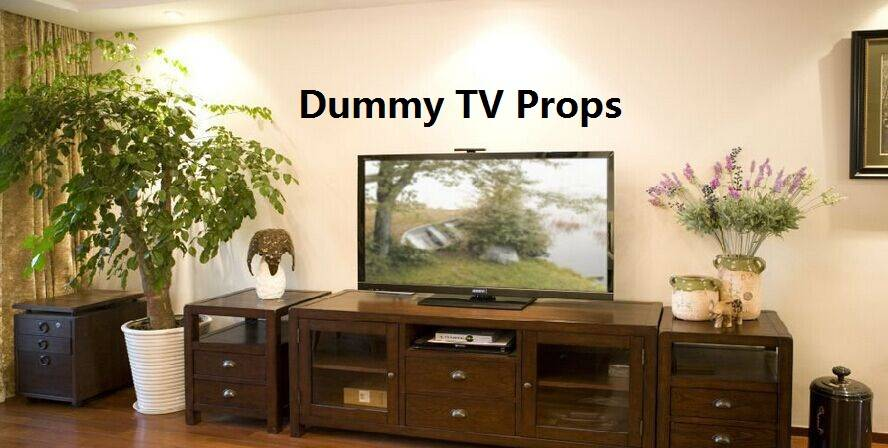 Offer the widest selection of furniture props for showroom - 42'' Very Real Dummy LED TV Props