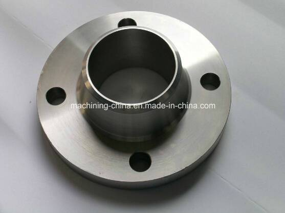 CNC Welding Neck Flange Made by Stainless Steel