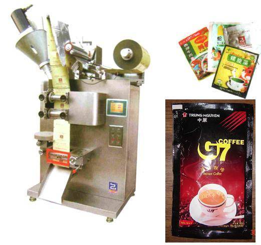 Automatic Liquid mill beverage filling sealing packing machine line