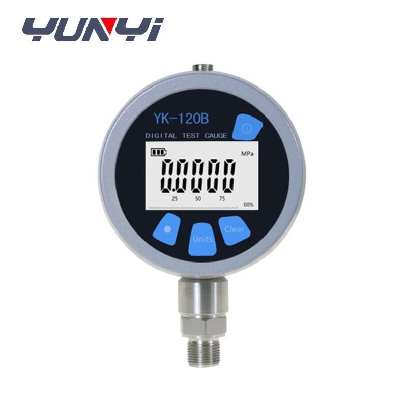stainless steel nitrogen pressure gauge