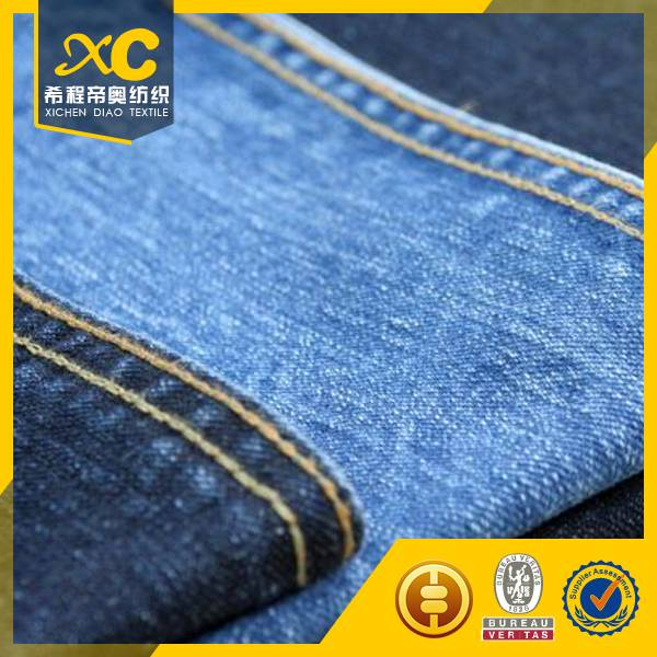 10 oz cotton polyeter denim fabric