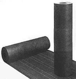 Black Asphalt Building Paper and roofing felt