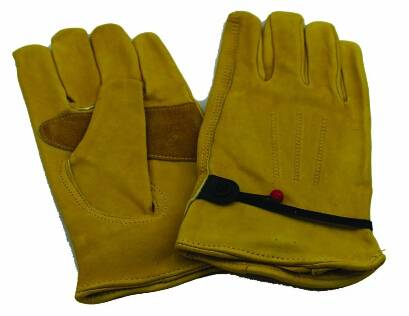 china factory on line wholesale grain cow leather gloves for work safety