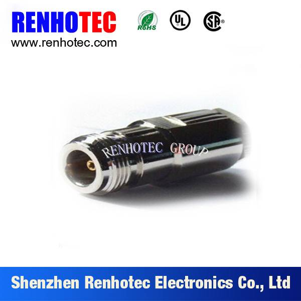 N female connector with flange crimp type rf connector for RG213